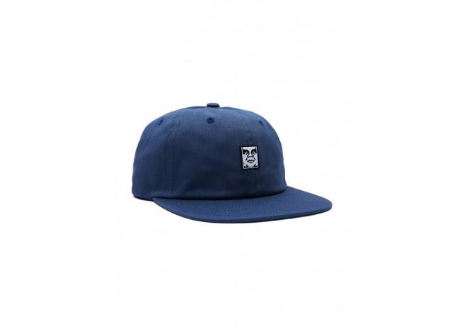 gorra-hombre-obey-icon-face-6-panel-strapback-azul
