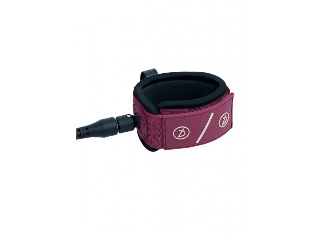 invento-surf-deflow-6ft-6mm-leash-burgundy