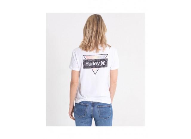 camiseta-mujer-hurley-shoker-fleece-crew-blanco