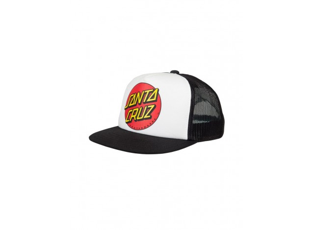 gorra-santa-cruz-youth-classic-dot-cap-negro